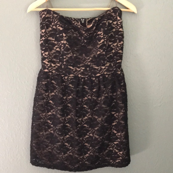Wet Seal Dresses Black Lace Dress Poshmark